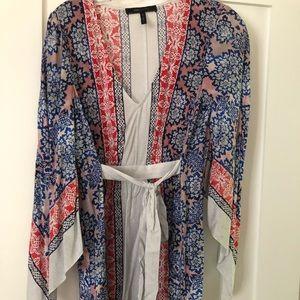 NWOT BCBG Scarf-print Dress Size S